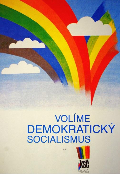 Vladimíra Ludková prague pride duhový socialismus 1990